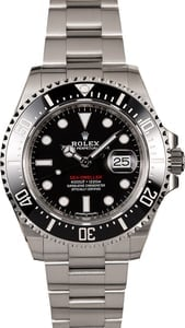 Rolex Red Lettering Sea-Dweller 126600 Stainless Steel