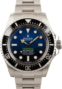 PreOwned Rolex SeaDweller 126660 DeepSea D-Blue Dial