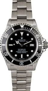 Certified Rolex Sea-Dweller 16600