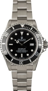 Used Rolex Sea-Dweller 16600 Stainless Steel Oyster