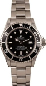 Pre-Owned Rolex Sea-Dweller 16600 Luminescent Black Dial