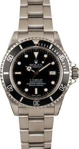 Pre Owned Rolex Sea-Dweller 16600 Black Bezel