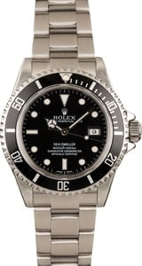 Used Rolex Steel Sea-Dweller 16600 T