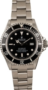 Rolex Steel Sea-Dweller 16600 Black Luminous Dial