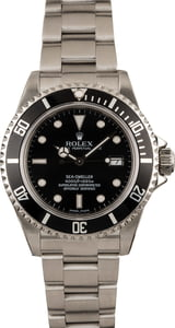 Pre Owned Rolex Sea-Dweller 16600 Luminescent Dial