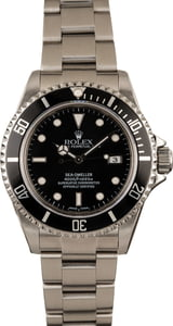 Pre-Owned Rolex Sea-Dweller 16600 Luminescent Markers