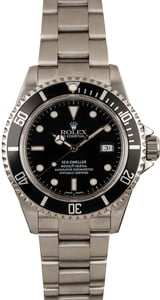 Pre-Owned Rolex Sea-Dweller 16600 Luminous Dial Watch
