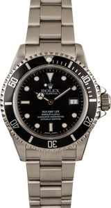 Pre-Owned Rolex Sea-Dweller 16600 Black Dial Watch