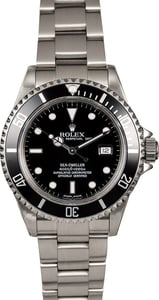 Men's Rolex Sea-Dweller 16600T Black Dial