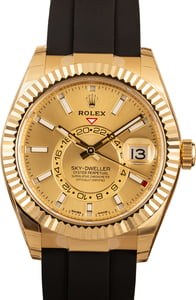 Rolex Sky-Dweller 326238 18k Yellow Gold