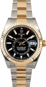 Used Rolex Sky-Dweller 326933 Black Dial