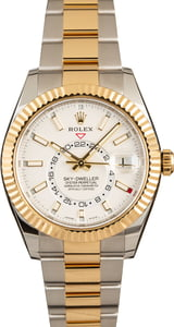Used Rolex Sky-Dweller 326933 White Dial