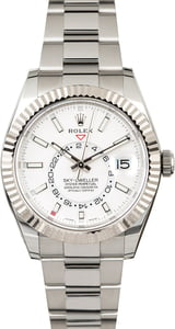 Rolex Sky-Dweller 326934 Stainless Steel and White Gold