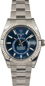 Rolex Sky-Dweller 326934 Blue Index Dial