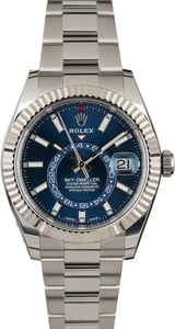 Rolex Sky-Dweller 326934 Blue Luminous Index Dial