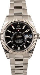 Used Rolex Sky-Dweller 326934 Black Dial