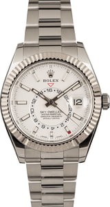 Pre-Owned Rolex Sky-Dweller 326934 White Dial