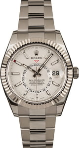 Used Rolex Sky-Dweller 326934 White Luminous Dial
