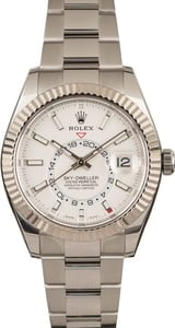 Pre-Owned Rolex Sky-Dweller 326934 White Dial Model