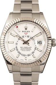 Rolex Sky-Dweller 326934 White Luminous Dial