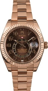 Pre Owned Rolex Sky-Dweller 326935 Everose Gold