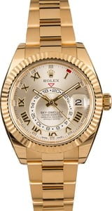 Rolex Sky-Dweller 326938 Yellow Gold Oyster