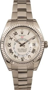 Pre-Owned Sky-Dweller Rolex 326939 White Gold T