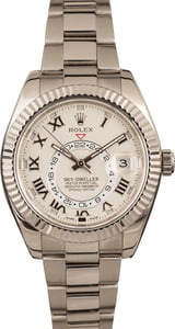 Pre-Owned Sky-Dweller Rolex 326939 White Gold