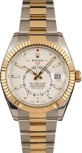 Pre-Owned Rolex Sky-Dweller 326933 Two Tone Oyster