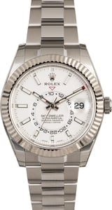 Used Rolex Sky-Dweller 326934 White Dial