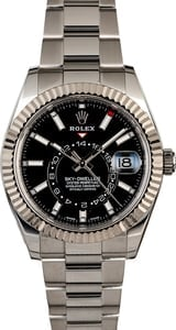Rolex Sky-Dweller 326934 Black Luminous Dial