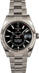 PreOwned Rolex Sky-Dweller 326934 Black Dial