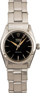Used Rolex Speed King Black Dial