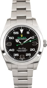 Used Rolex Stainless Steel Air-King 116900