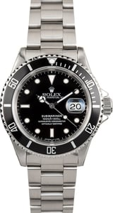 Rolex Stainless Oyster Perpetual Submariner