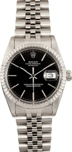 Rolex Men's Steel Datejust 16030
