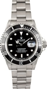 Rolex Steel Oyster Perpetual 16610 Submariner