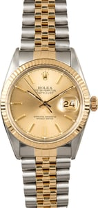 Rolex Steel and Gold Datejust