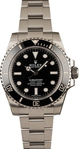 Used Submariner Rolex 114060 Ceramic Timing Bezel