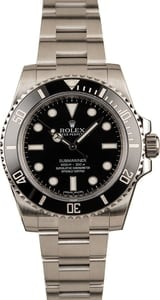 Pre-Owned 40MM Submariner Rolex 114060 Ceramic Bezel
