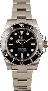 Submariner Rolex 114060 No Date