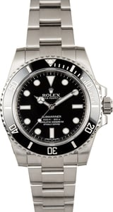 Rolex Submariner Ceramic No Date 114060