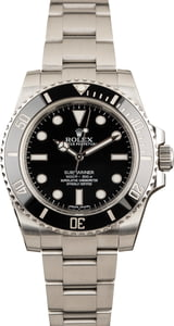 Used Submariner Rolex 114060 Ceramic Insert