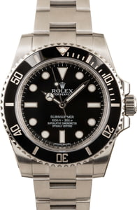 Rolex Steel Submariner No Date 114060