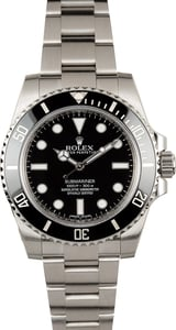Rolex Submariner No Date Model 114060