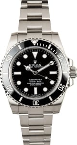 Rolex Submariner 114060 Ceramic -Certified Pre-Owned