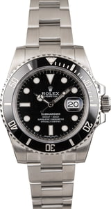 Rolex Submariner 116610 Ceramic Men's Watch