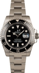 Pre-Owned Rolex Submariner Ceramic Bezel 116610