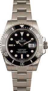 Pre-Owned Rolex Submariner 116610 Luminous Markers T
