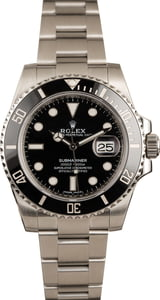 Used Rolex Submariner 116610 Stainless Steel Men's Watch